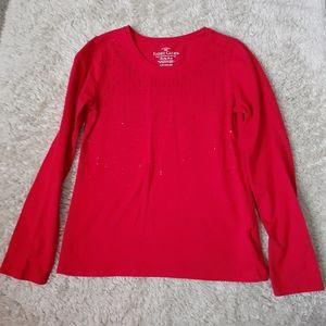 Girls Sequin Long sleeve shirt